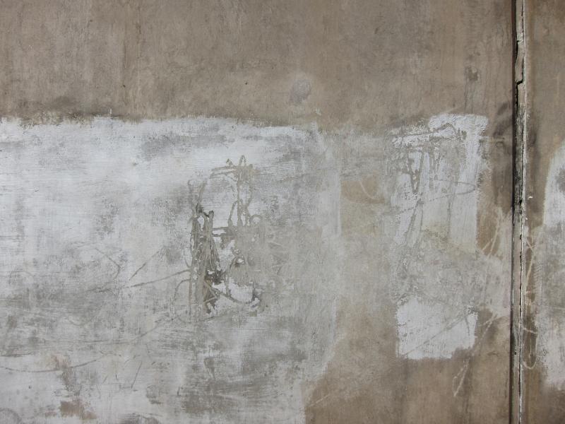 Zeichen an der Wand